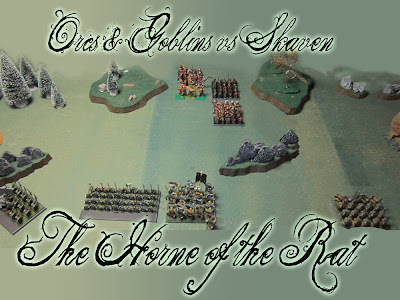 Orcs and Goblins versus Skaven Battle Report
