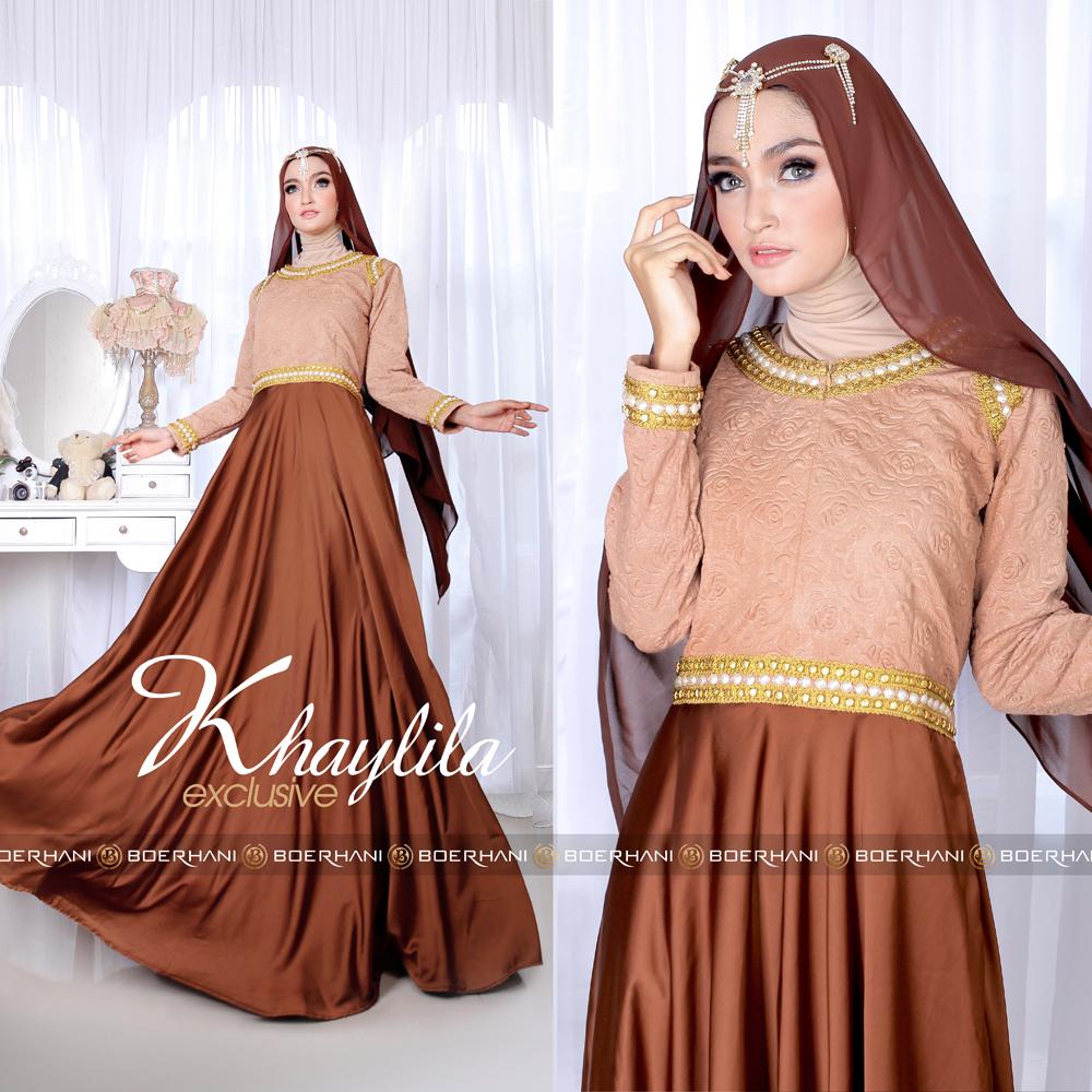 Khaylila Dress By Boerhani