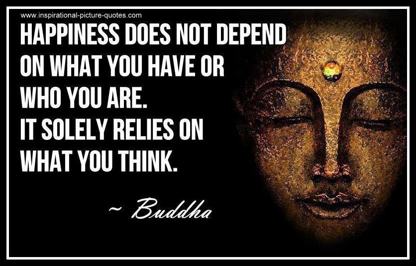 The Buddha Happiness Quote