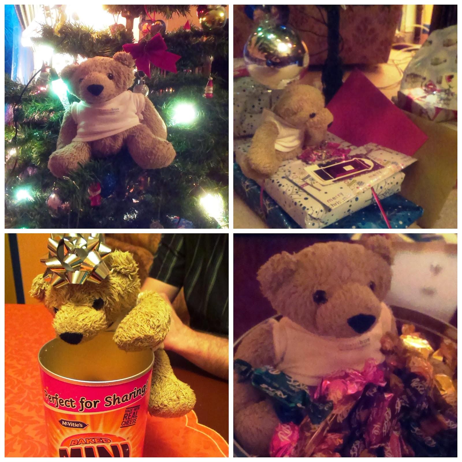 Omnibear at Christmas