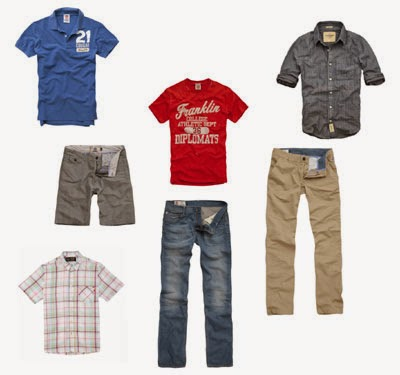 Roupas masculinas na BBB Outlet