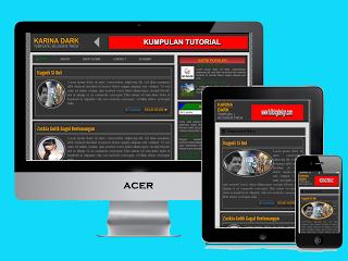Download template SEO Keren dan Responsive