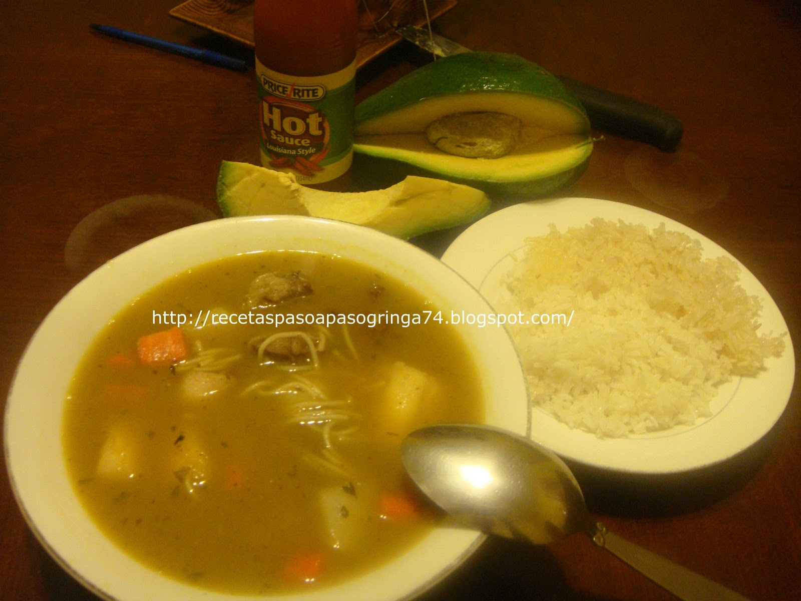 Sopa de hueso for Chambre de guandules