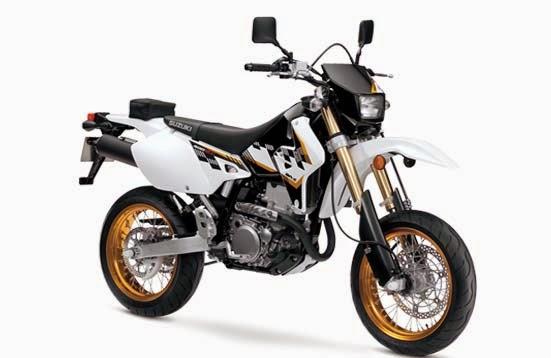 The Suzuki DR-Z400SM