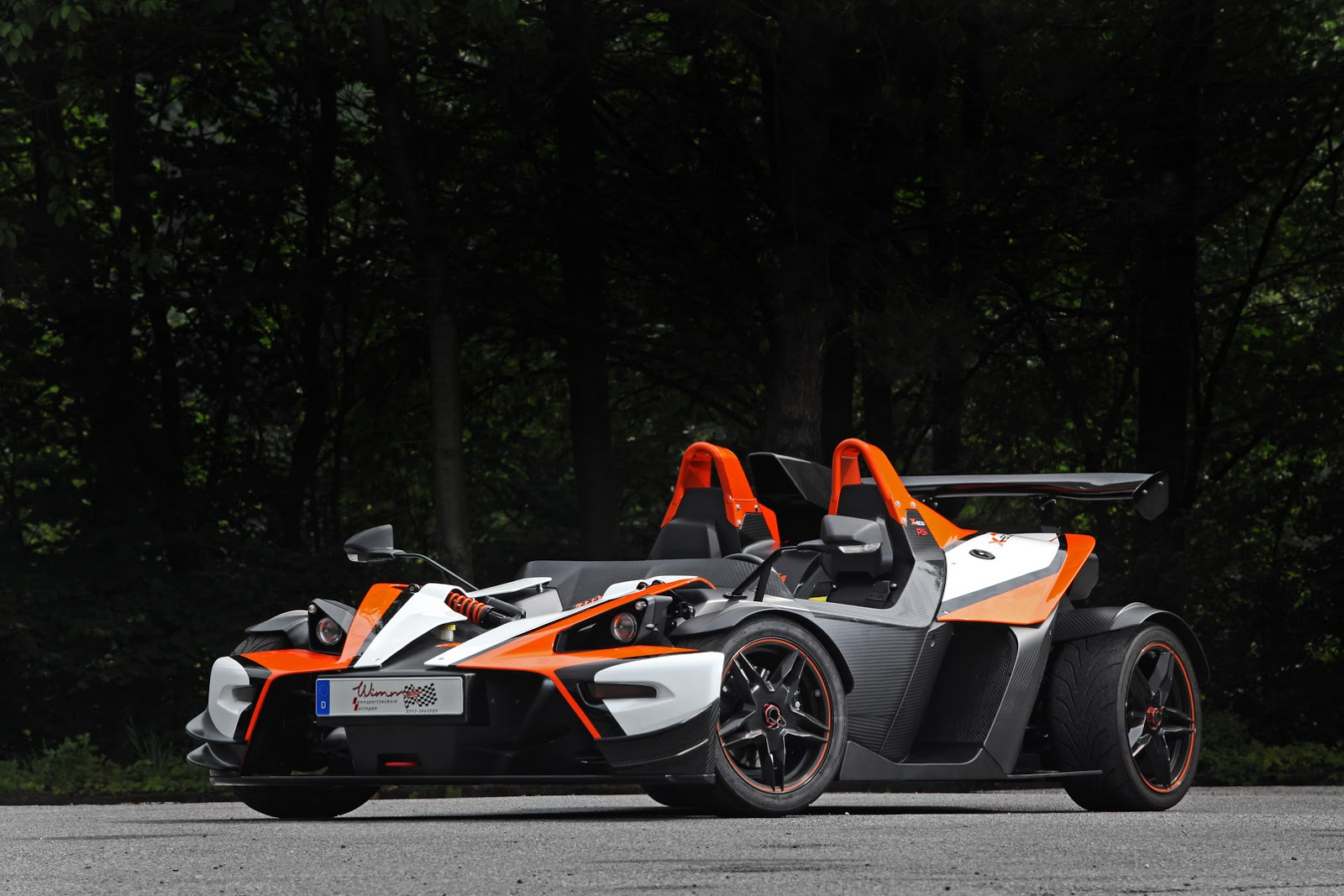 wimmer rs 39 trio of tuned ktm x bows with up to 485ps. Black Bedroom Furniture Sets. Home Design Ideas
