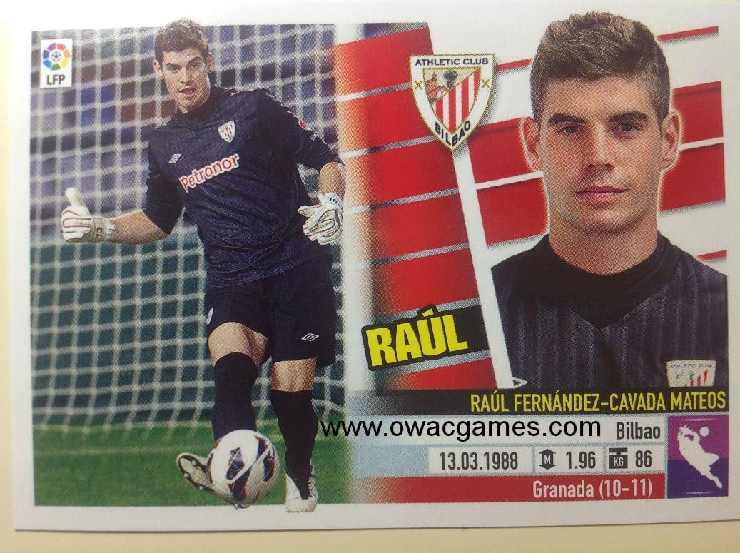 Liga ESTE 2013-14 Ath. Bilbao - 2 - Raúl