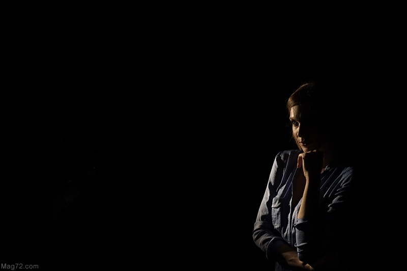 Fotografia della modella Silvia Sera