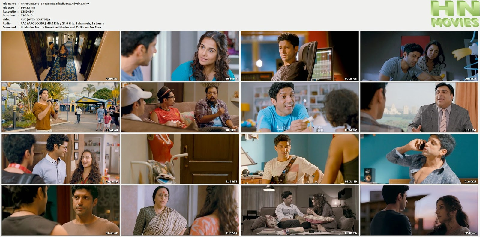 movie screenshot of Shaadi Ke Side Effects fdmovie.com