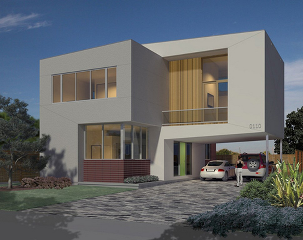 New home designs latest modern stylish homes front for Latest window designs for house