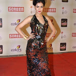 Sonal chauhan in hot black and red dress