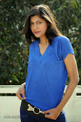 Sneha Tagore Photo shoot in Blue-thumbnail-18