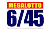 6/45 Mega lotto result