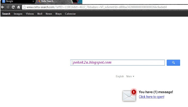 Delta Search new tab, Delta Search