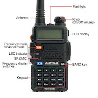 Baofeng UV-5R UV5R Dual Band VHF - UHF With FM Radio