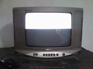 TV Samsung Super Vision Gambar Hanya Separoh