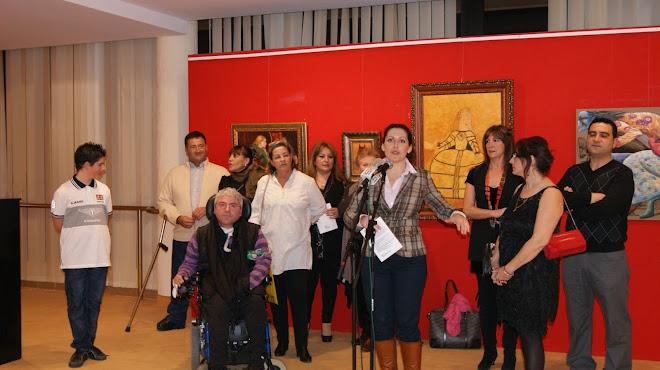 """PRESENTACIÓN EXPOSICIÓN COLECTIVA ARTE INTEGRACION ALHAURIN DE LATORRE 2011"