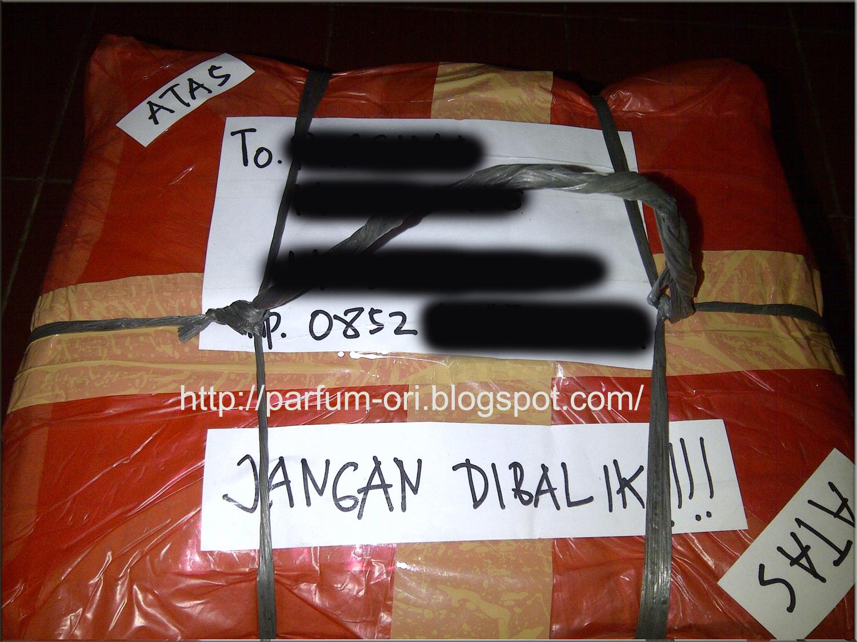 Pengiriman Parfum ke Jakarta - 24 Maret 2013