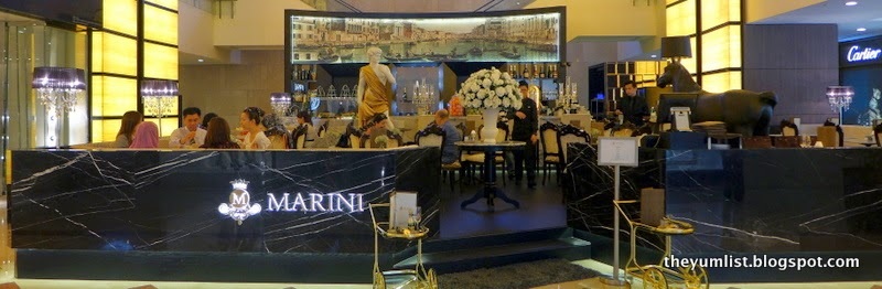 M Marini Caffe, KLCC, Kuala Lumpur