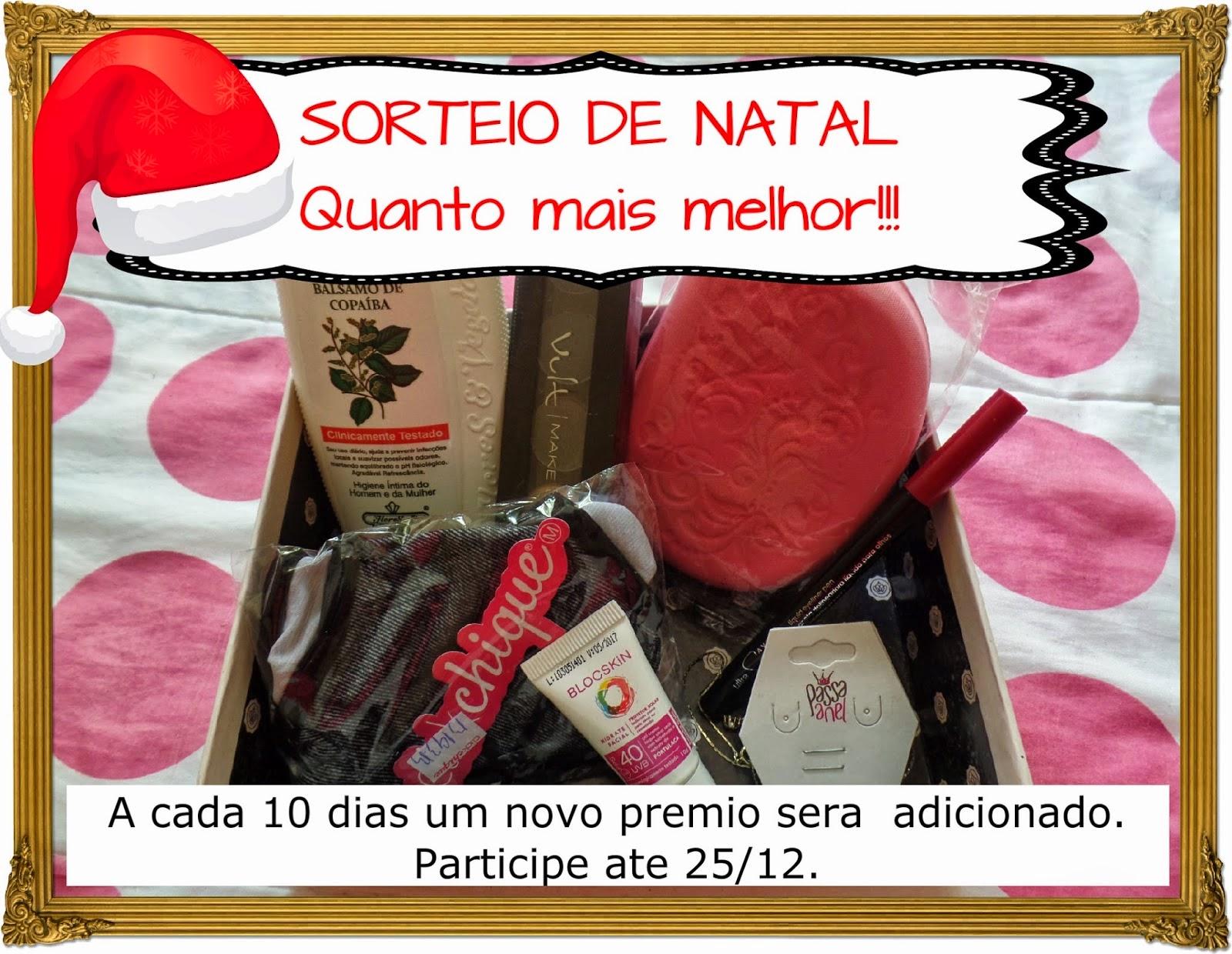 SORTEIO DE NATAL!!!