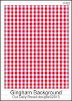 Our Daily Bread designs Gingham Background