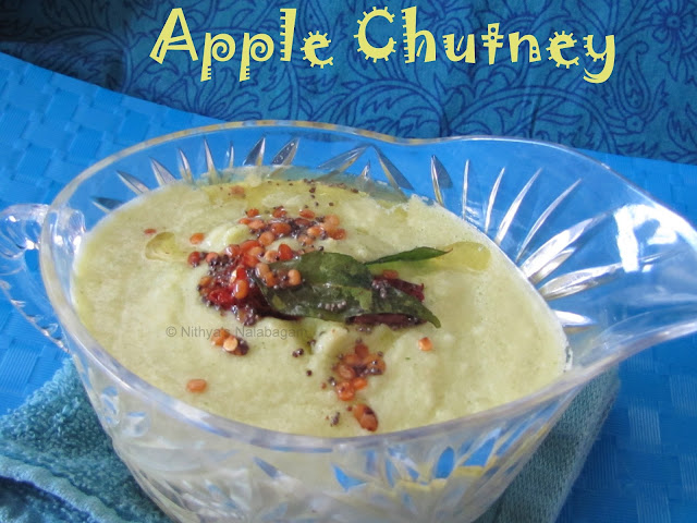 Indian Apple Chutney Recipe
