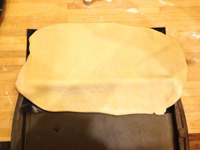 plum cake dough
