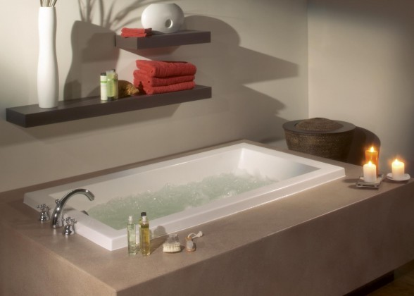 Decoracion de Interiores: Hermosos Jacuzzis para tu Baño