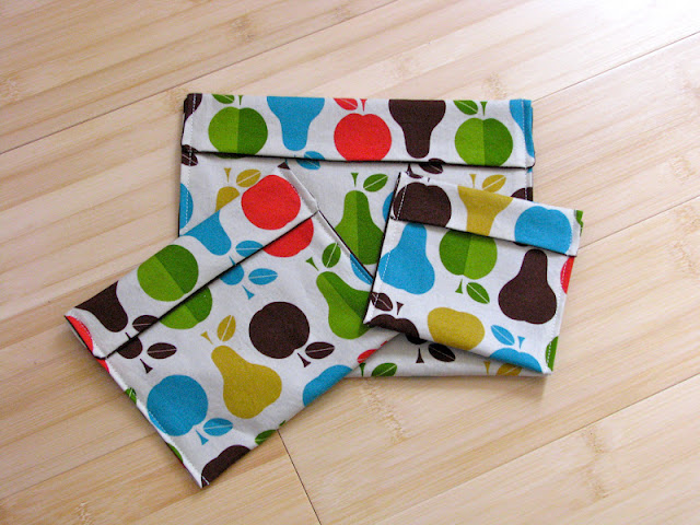 reusable lunch bag sewing tutorial