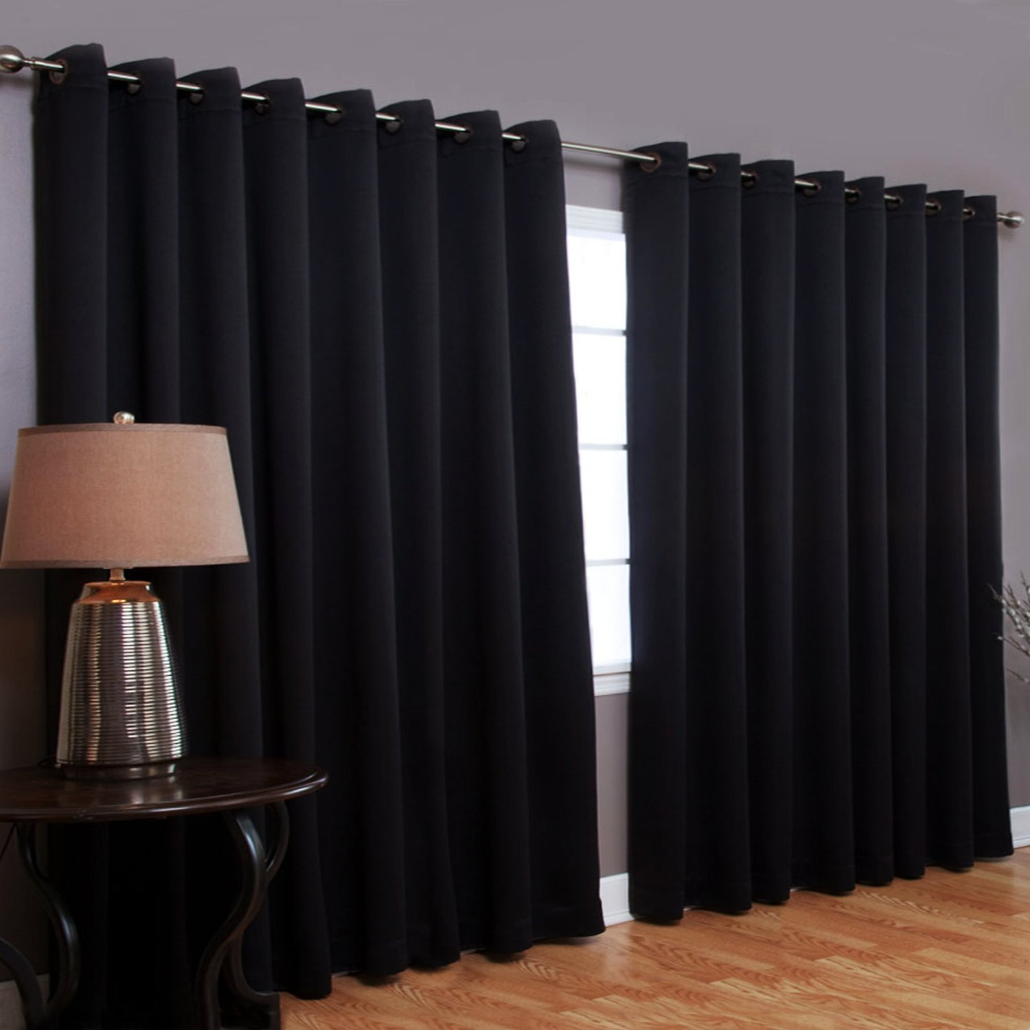 Black And White Stripped Curtains Best Thermal Curtains