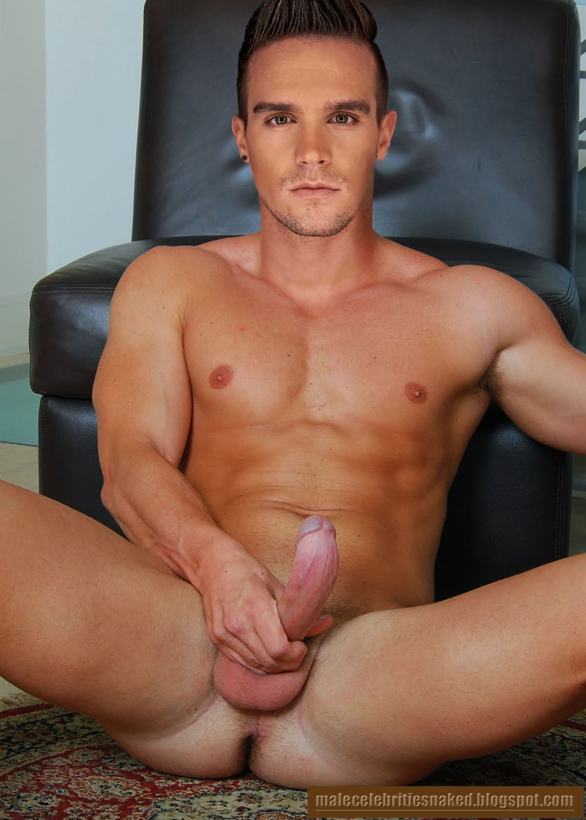 Gaz beadle from geordie shore wanking
