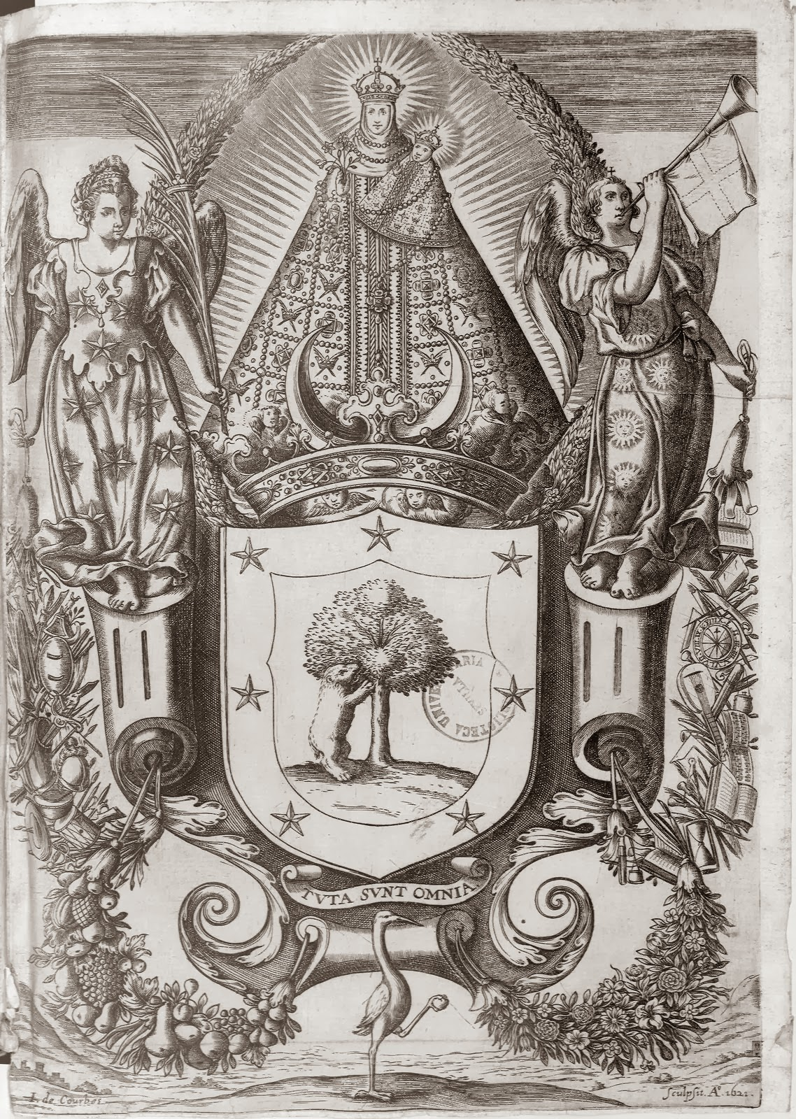 Grabado de la Virgen de Atocha - El nombre de Atocha se relaciona con los atentados del 11M de España