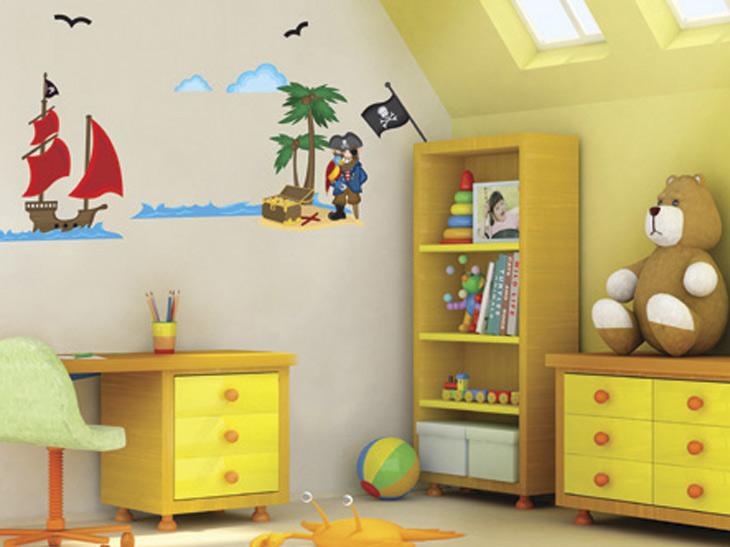 Decorar la habitaci n de los ni os con pegatinas para - Decorar habitacion ninos ...