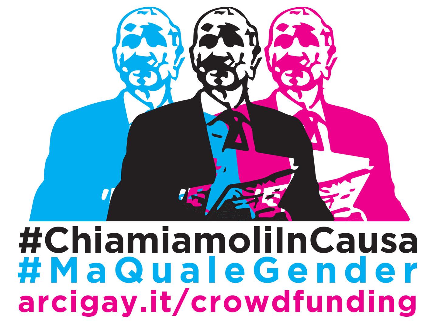 Sostieni la nostra campagna contro l'omofobia dei movimenti No gender