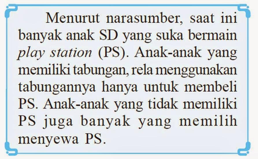 Gapai 2 New Season Pembahasan Soal B Indo 5 Bab 1 Materi 1 1 Menanggapi Penjelasan