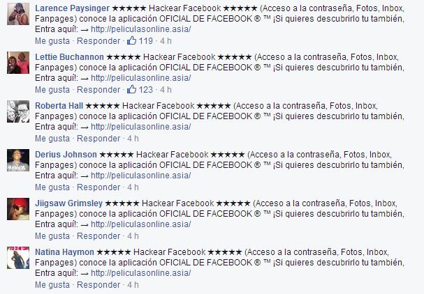 Hackear Facebook PeliculasOnline