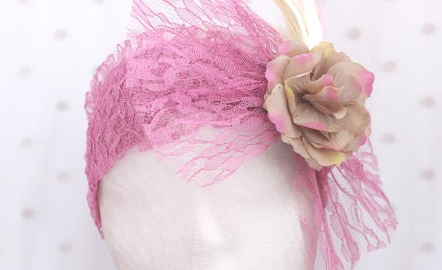 Colección La Playa - Banda crin Rosa