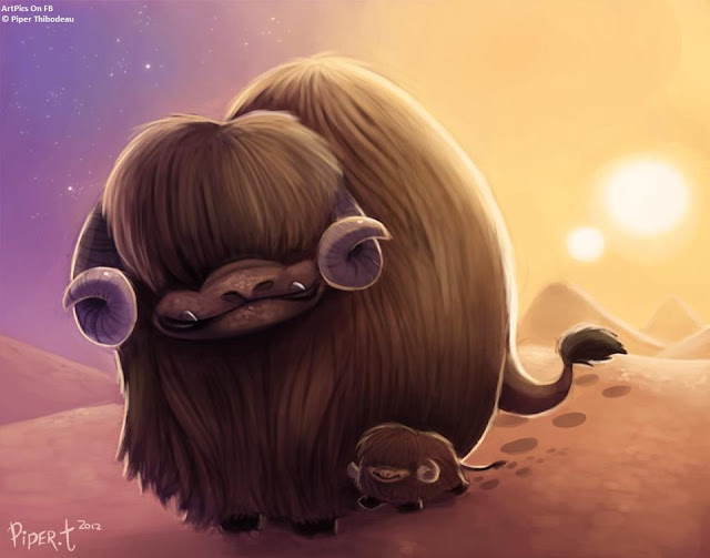 Piper Thibodeau anime  painting photoshop
