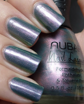 Indigo Illusion, Nubar, swatch
