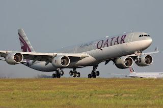 airbus a340-600 qatar airways, a340-600 qatar airways, watar airways, a340