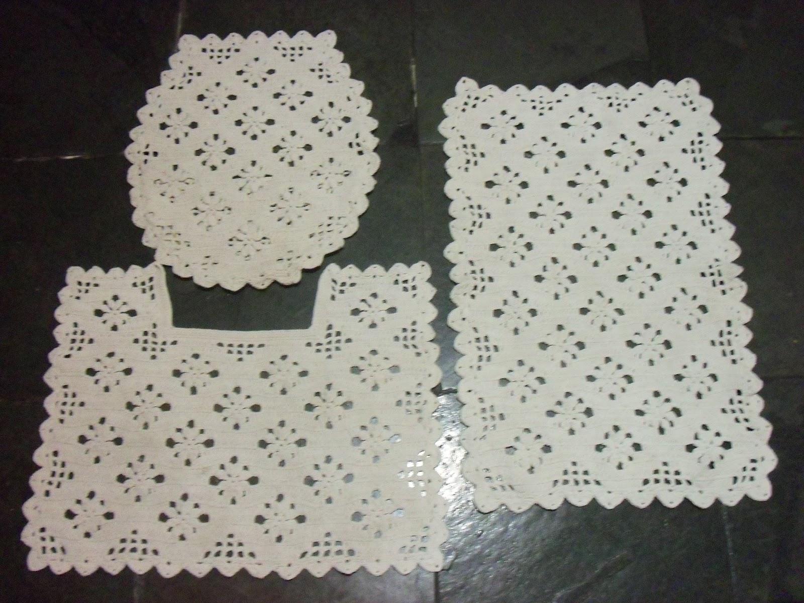 As Receitas de Crochê Jogo de banheiro de crochê -> Jogo De Banheiro Simples Em Croche Passo A Passo