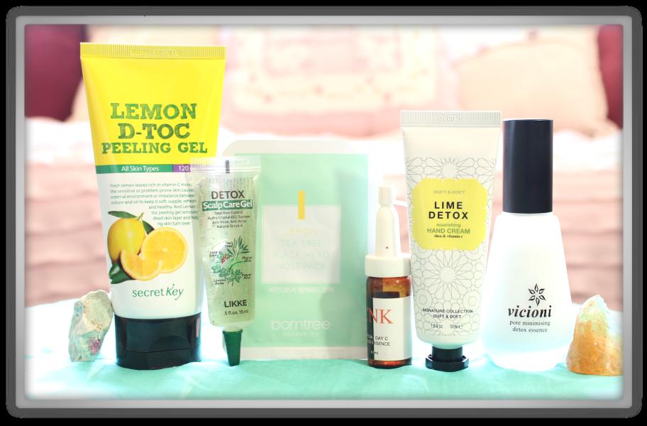 겟잇뷰티박스 by 미미박스 memebox beautybox # Superbox #38 Detox Care unboxing review box Look inside