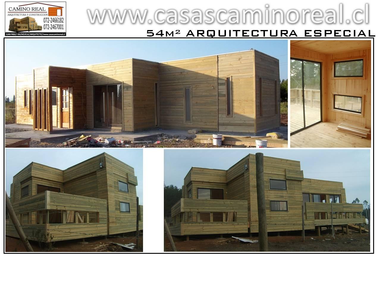 Casas prefabricadas de madera y acero galvanizado camino - Casas de acero prefabricadas ...