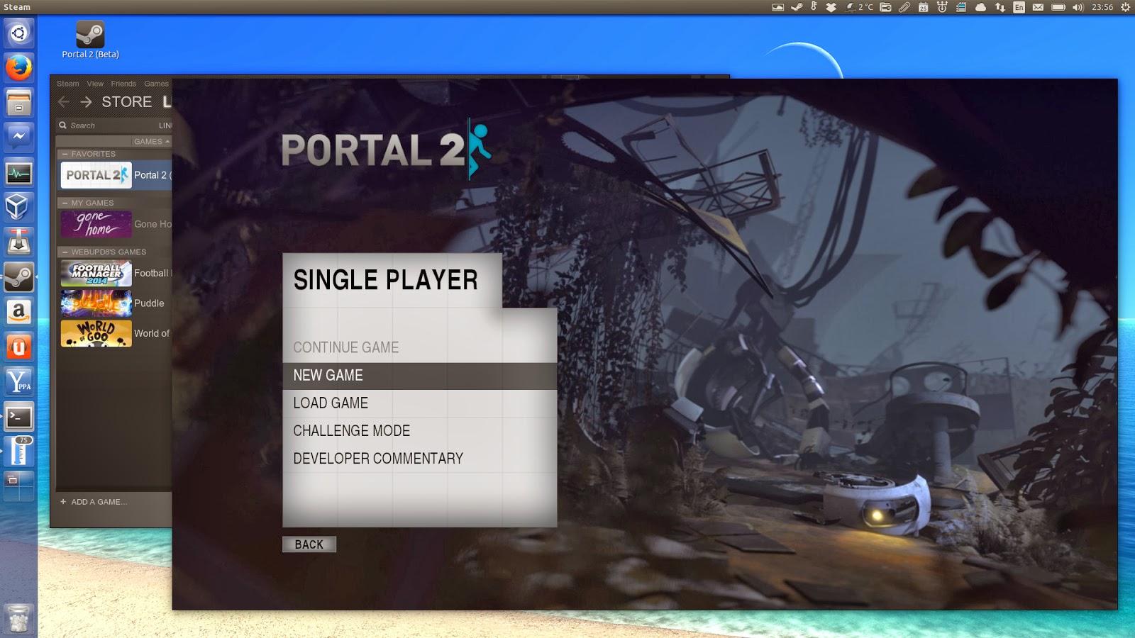 Portal 2 Ubuntu