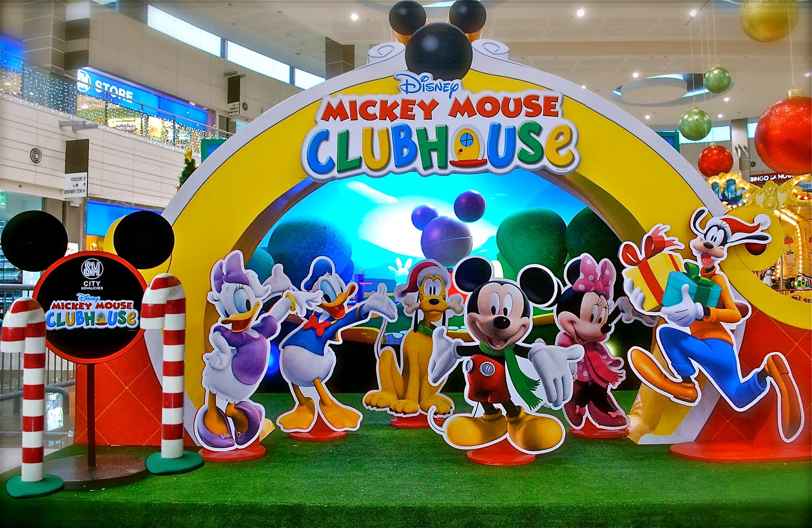 mickey mouse clubhouse christmas launch at sm city novaliches - Mickey Mouse Clubhouse Christmas