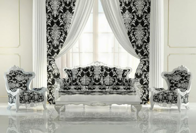 Baroque Living Room Decorating