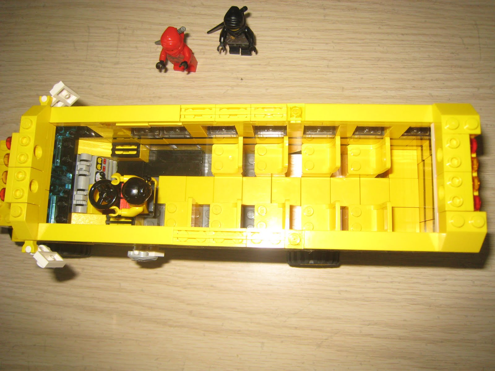 Lego R Us Lego Ninja School Bus
