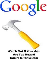 Blog full of ads