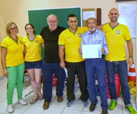 CURSO DE FUTEBOL BRASIL/ALEMANHA PARA ED. FÍSICOS E TREINADORES