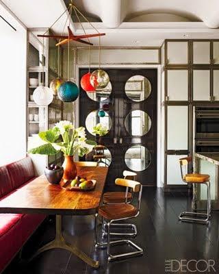 beautiful elle decor kitchen black gold
