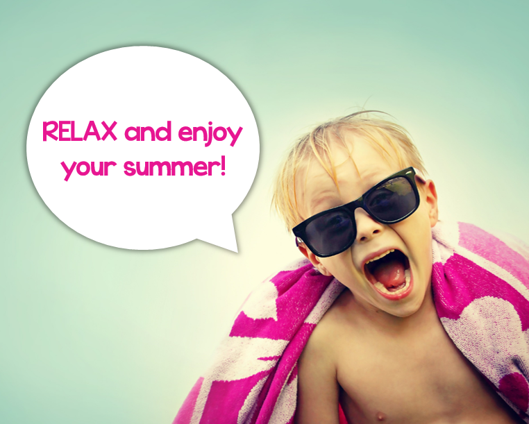 relax and enjoy summer little minds at work